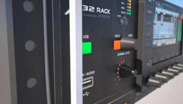 Music studio 32 Rack